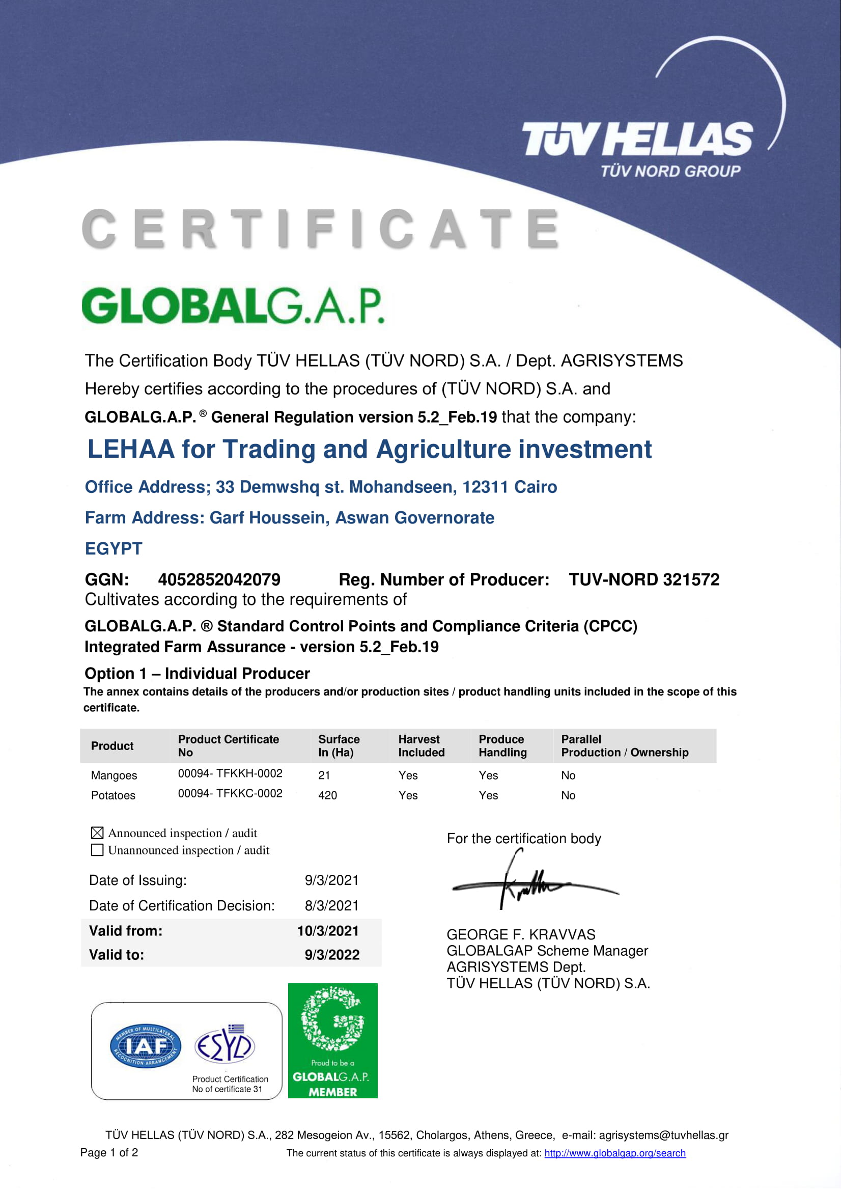 LEHAA for Trading and Agriculture investment Final Certificate-1