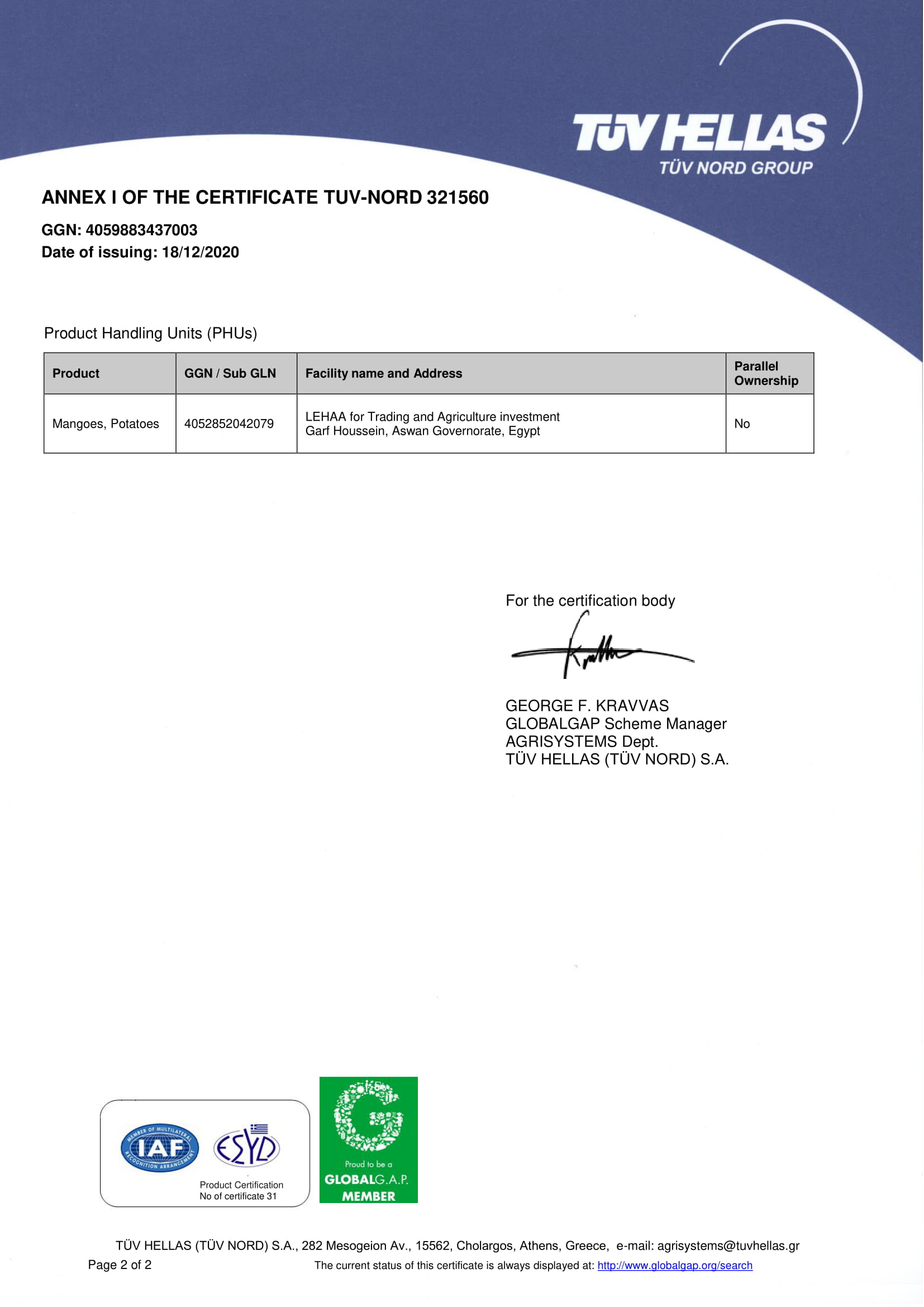 LEHAA for Trading and Agriculture investment Final Certificate-2